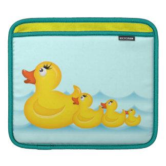 Yellow Rubber Ducks Rickshaw Sleeve iPad Sleeves