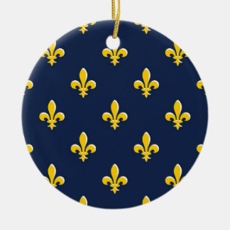 Yellow Scout Emblem Christmas Ornament
