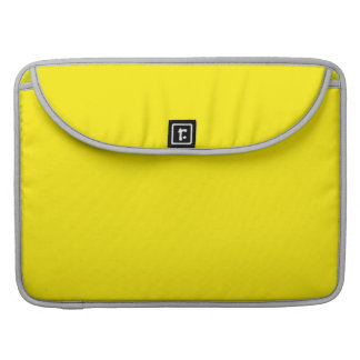 Yellow Sleeve For MacBook Pro