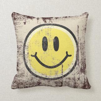 Yellow Smile Cushion