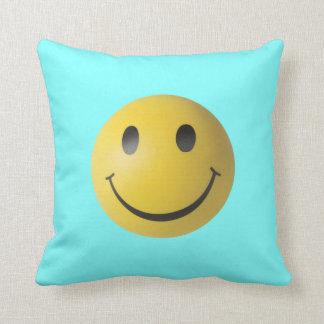Yellow Smiley Face Cushion
