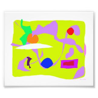 Yellow Square Art Photo
