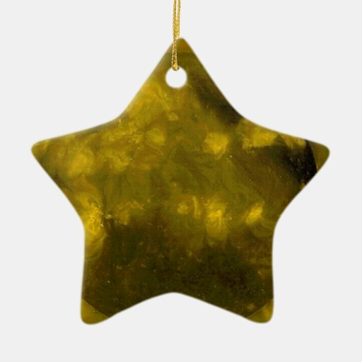 YELLOW Star RED Star Ornament