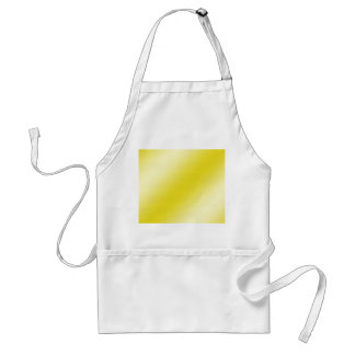 Yellow Stripe Abstract Standard Apron