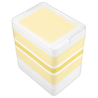 Yellow Stripe Large Igloo Drink Cooler Chilly Bin