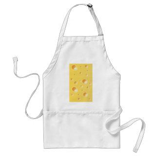 Yellow Swiss Cheese Texture Standard Apron