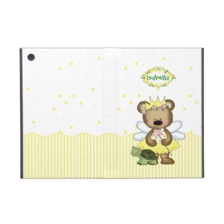 Yellow Teddy Bear Fairy Princess iPad Mini Case
