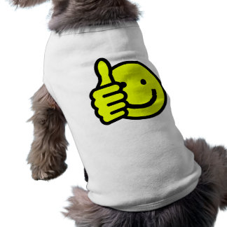 Yellow Thumbs Up Smiley Shirt