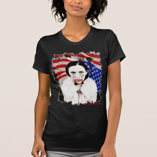 YELLOW THUNDER WOMAN AMERICAN INDIAN T SHIRTS