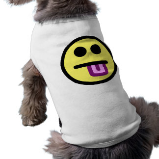 Yellow Tongue Out Smiley Face Shirt