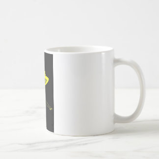 Yellow Top Hat Coffee Mug