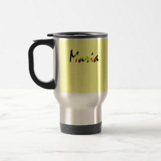 Yellow travel mug for Maria