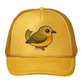 Yellow Warbler Trucker Hats