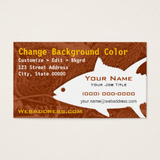 141 fish guide business cards and fish guide business card yellowfin tuna fish business card colourmoves Gallery