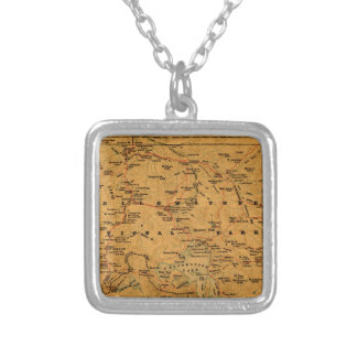 Yellowstone 1880 silver plated necklace