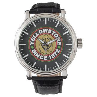 Yellowstone Black Circle Watch