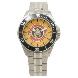 Yellowstone Gold Circle Watch