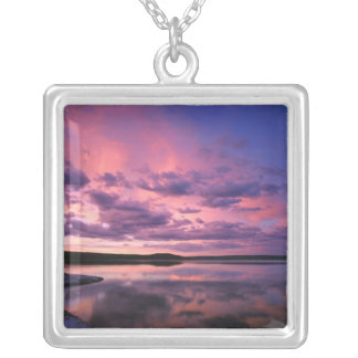 Yellowstone National Park, Wyoming. USA. Silver Plated Necklace