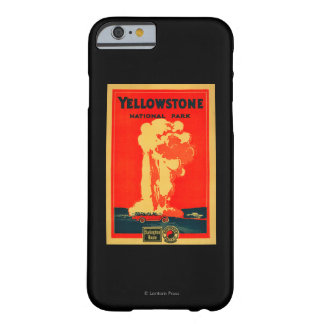 Yellowstone, Old Faithful Advertising Poster Barely There iPhone 6 Case