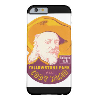Yellowstone Park Vintage Travel Poster Artwork Barely There iPhone 6 Case