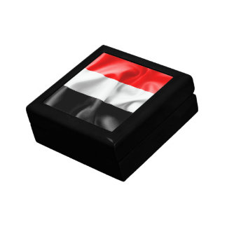 Yemen Flag Keepsake Jewelry Box