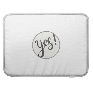 YES! MacBook Pro 15 Inch Sleeve