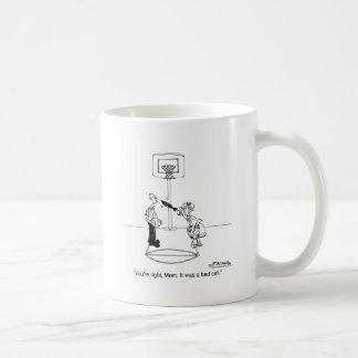 Yes, Mom, It Was a Bad Call Basic White Mug