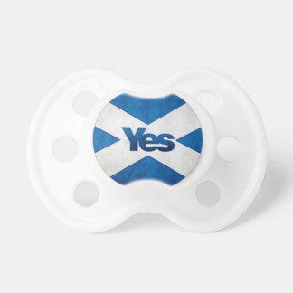 Yes to Independent Scotland 'Saor Alba Go Bragh' Dummy