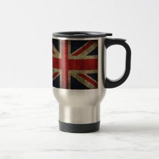 Yes we are British!! Stainless Steel Travel Mug