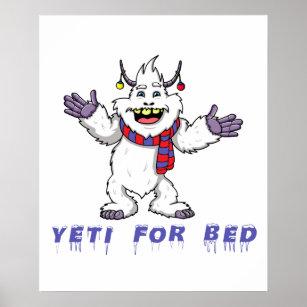 Yeti Posters & Photo Prints | Zazzle NZ