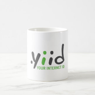yiid coffee cup (basic) basic white mug