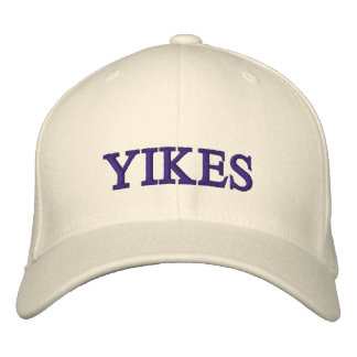 YIKES! EMBROIDERED HAT