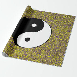 Yin and Yang Wrapping Paper