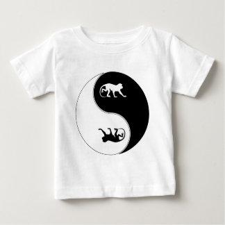 Yin Yang Baboon Baby T-Shirt
