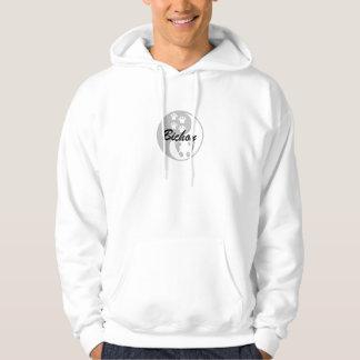 yin yang bichon hoodie