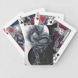 Yin Yang Chinese Dragon Playing Cards