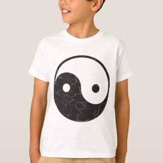Yin Yang - Distressed Texture T-Shirt