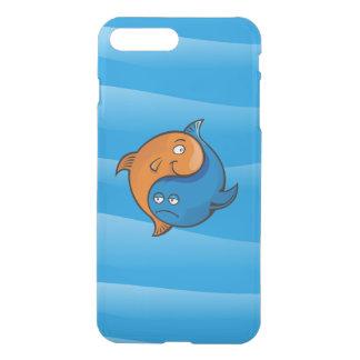 Yin Yang Fish Cartoon iPhone 7 Plus Case
