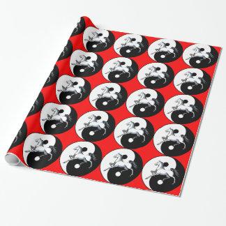 Yin Yang Horse Gift Wrap