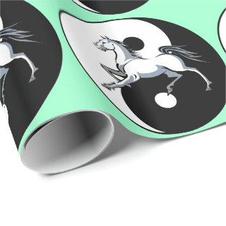 Yin Yang Horse Wrapping Paper