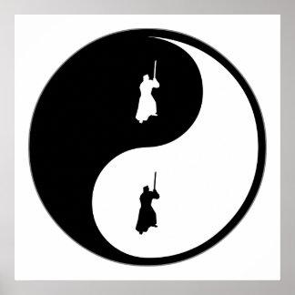 Yin Yang Iaido Print