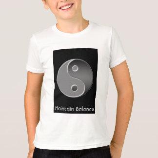 yin-yang, Maintain Balance T-Shirt