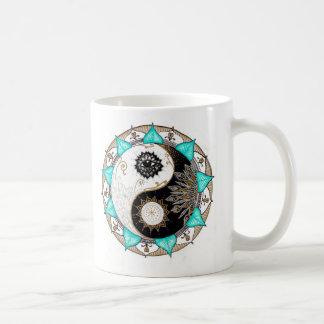 Yin Yang Mandala Coffee Mug