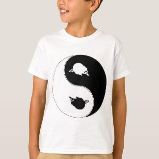 Yin Yang Raccoon T-Shirt