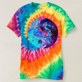 Yin Yang Spiral Tie-Dye T-Shirt