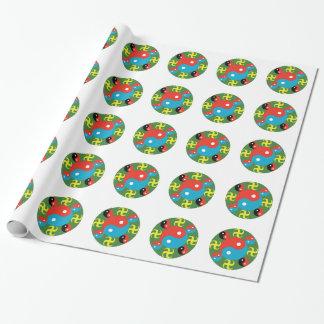 Yin Yang Wrapping Paper