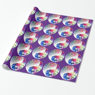 Yin Yang Yoga Wrapping Paper