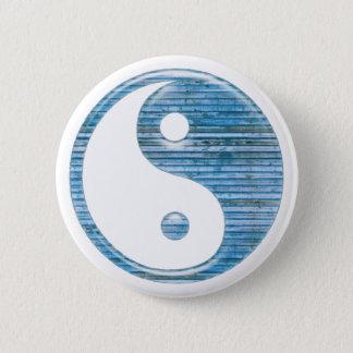 Ying Yang 6 Cm Round Badge