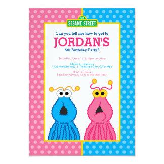 Yip-Yips Birthday 13 Cm X 18 Cm Invitation Card