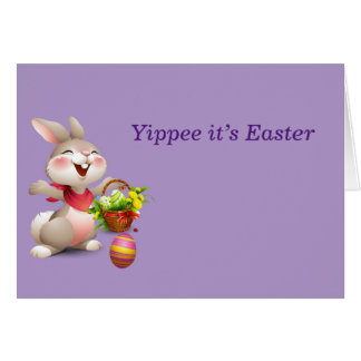 Yippee it's Easter Card